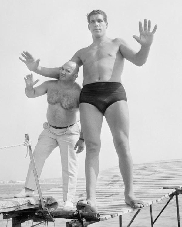 Andre The Giant At Age 19