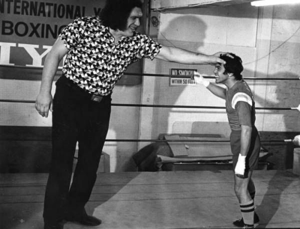 21 André The Giant Photos That Make The World Look Unbelievably Tiny