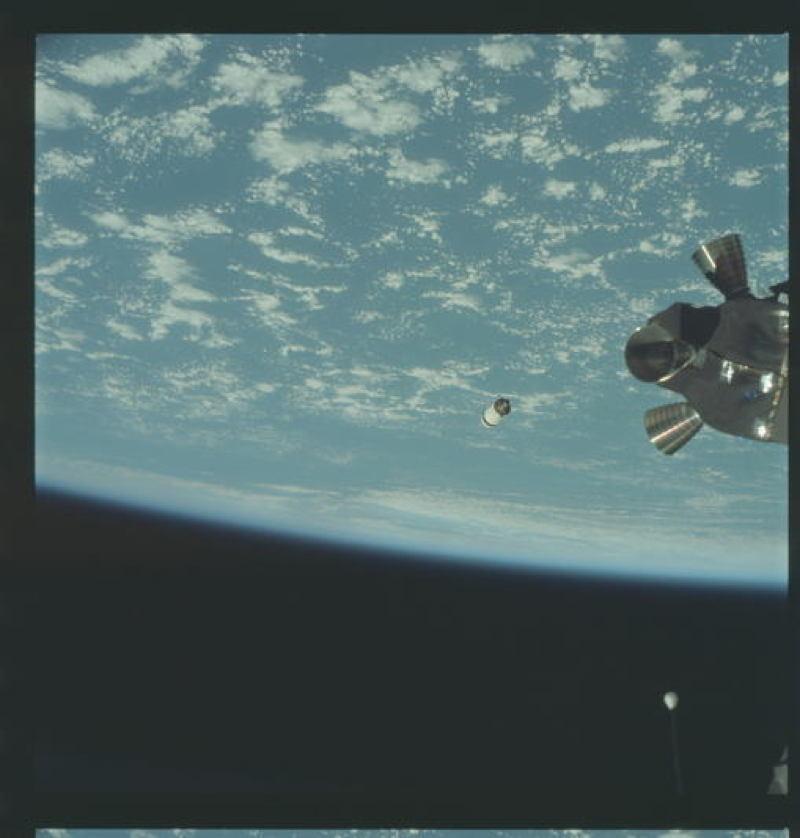 Apollo Project Archive Earth Clouds