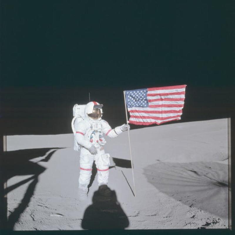 Apollo Project Archive Flag