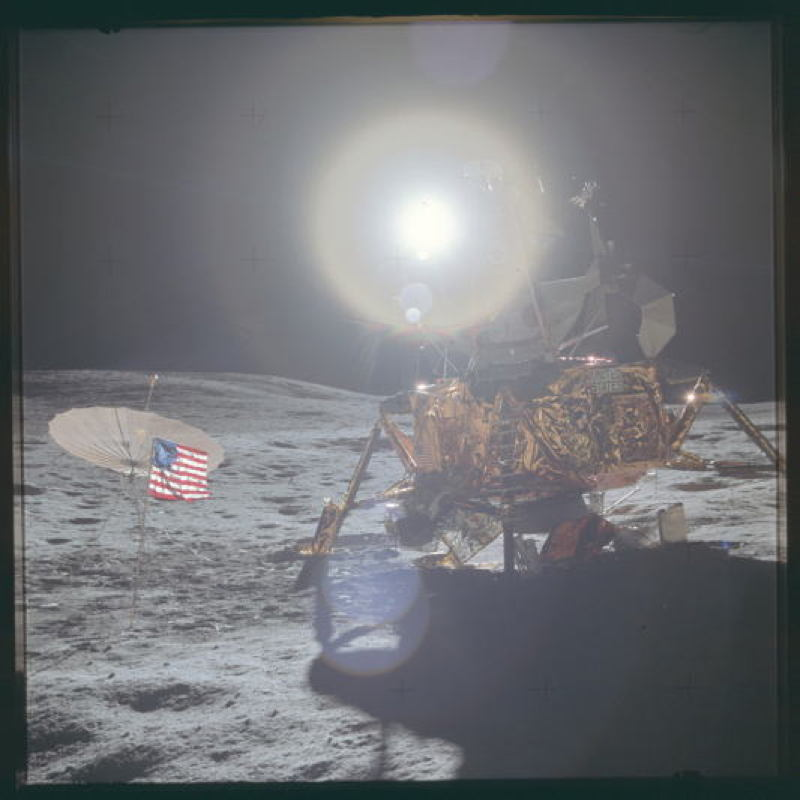 Apollo Project Archive Moonflare