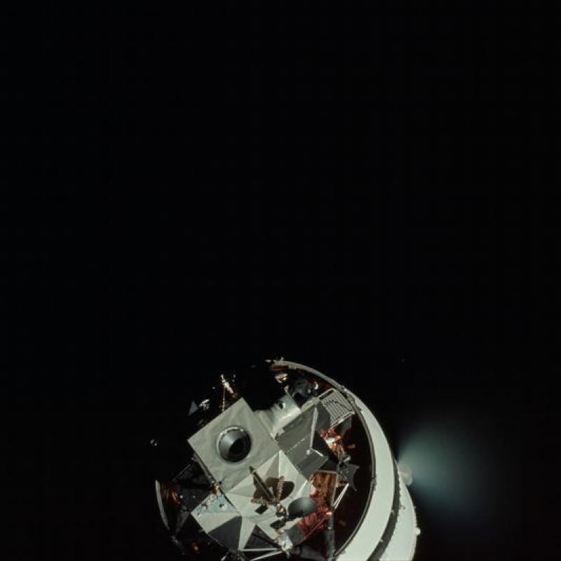 Apollo Project Archive Satillite