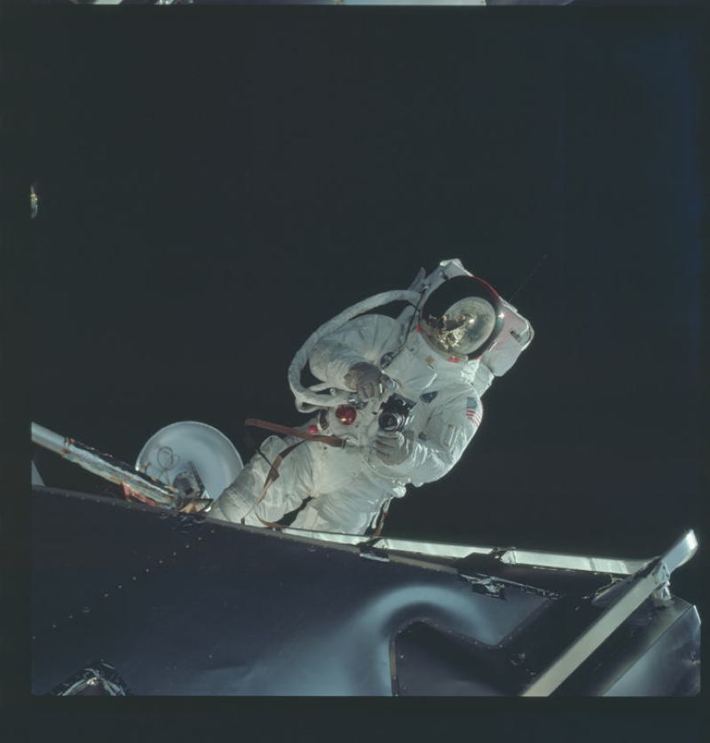 Apollo Project Archive Space Walk