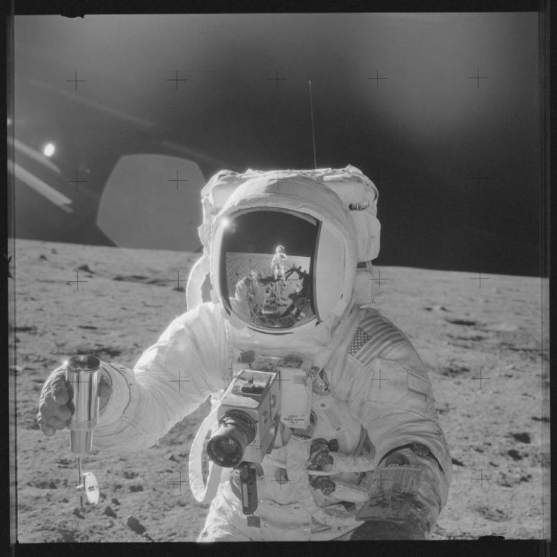 Apollo Project Archive Spacesuit