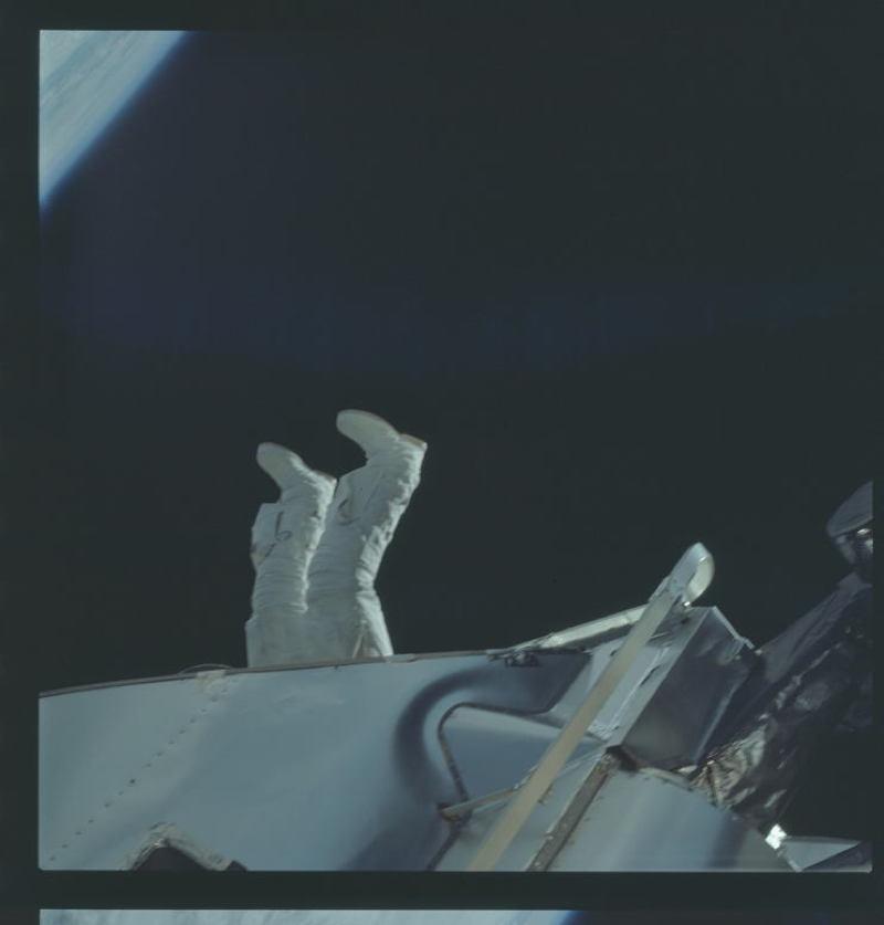 Apollo Project Archive Spacewalk