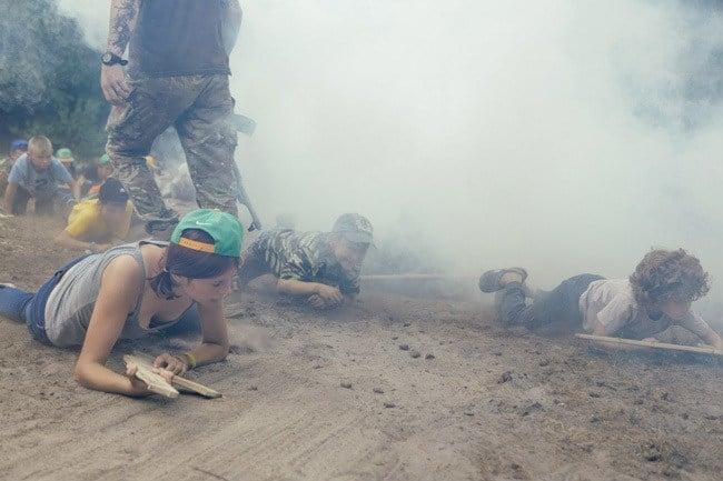 Azov Camp Crawling