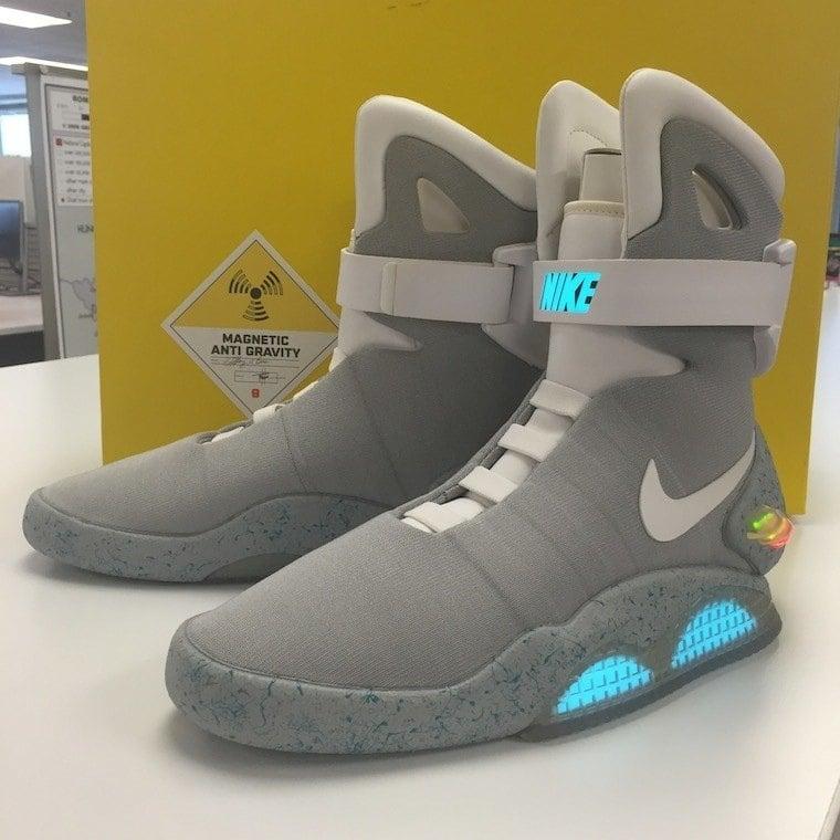 Back Future Nike Mag