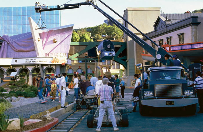 Back To The Future Filming