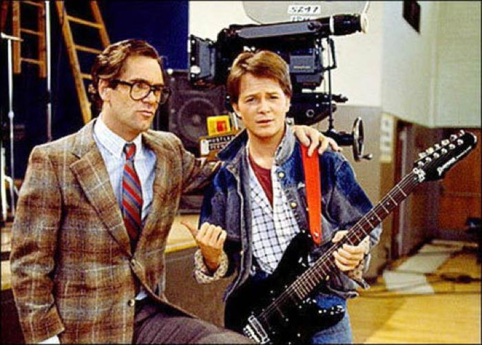 Back To The Future Marty Guitar