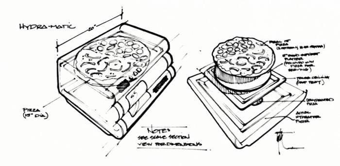 Back To The Future Pizza