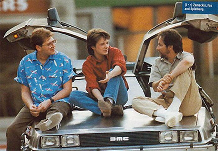Back To The Future Spielberg Zemeckis