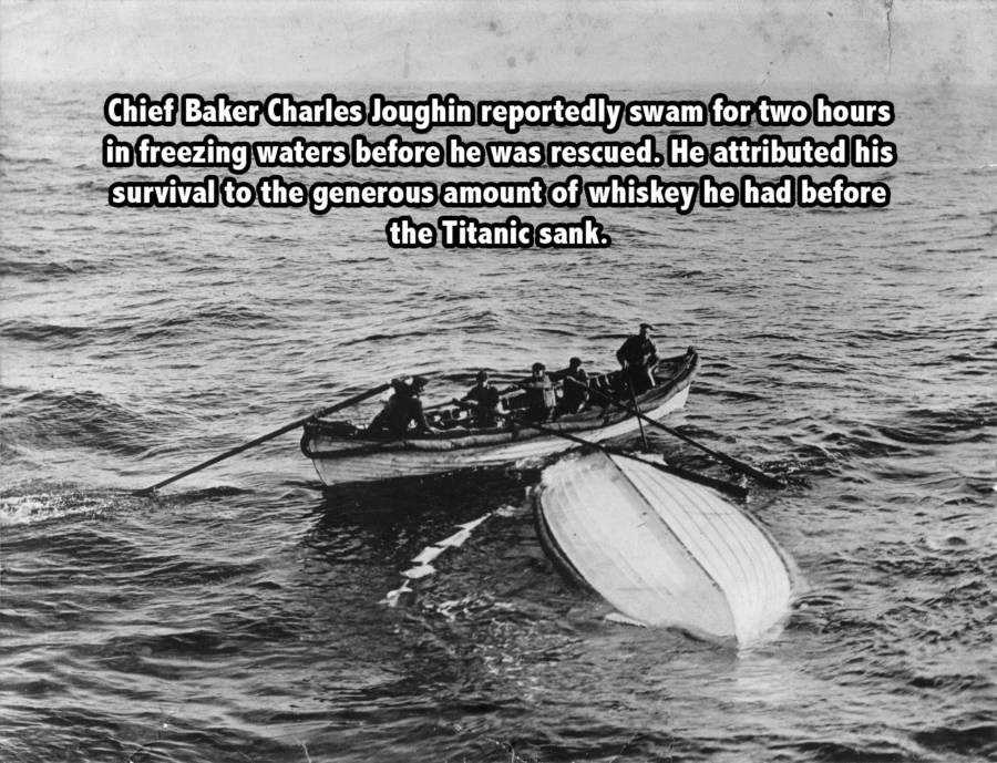 Baker Survives The Titanic Sinking
