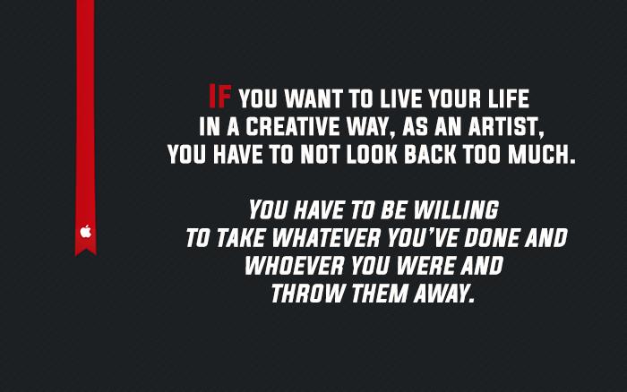 Steve Jobs On Being Creative