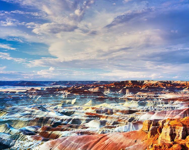 Best Road Trips Painted Desert