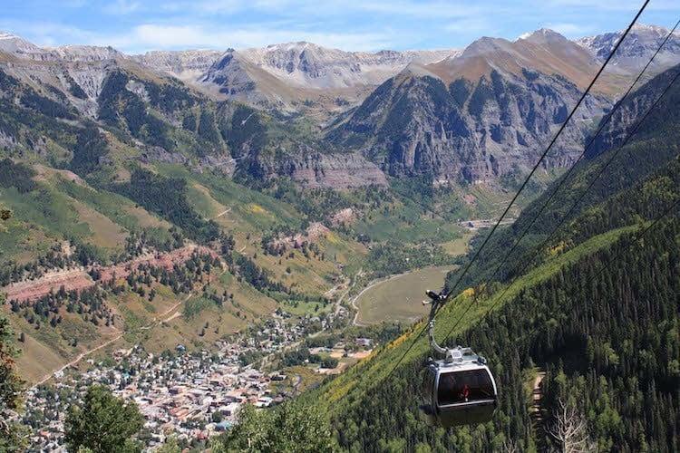 Best Road Trips Telluride Gondola