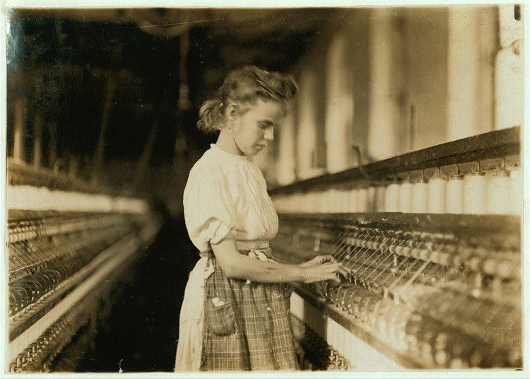 Child Labor 1900s Cherryville Mill