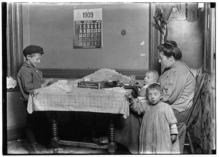 Child Labor 1900s Cigarettes