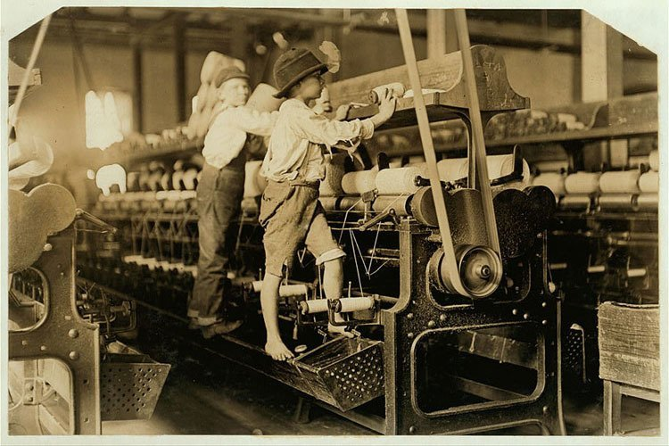 Children From Early 20th Century America Probably Worked Harder Than You