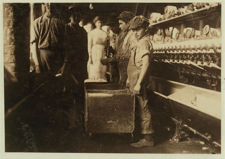 Child Labor 1900s Doffers