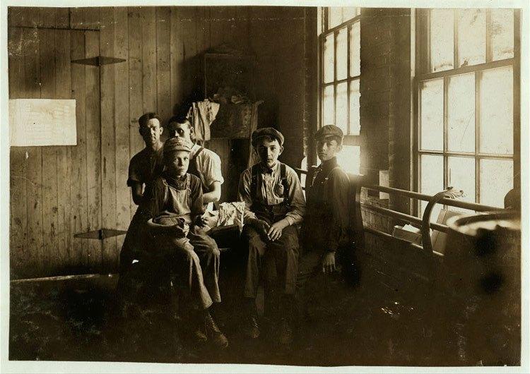 Child Labor 1900s Furniture Factory