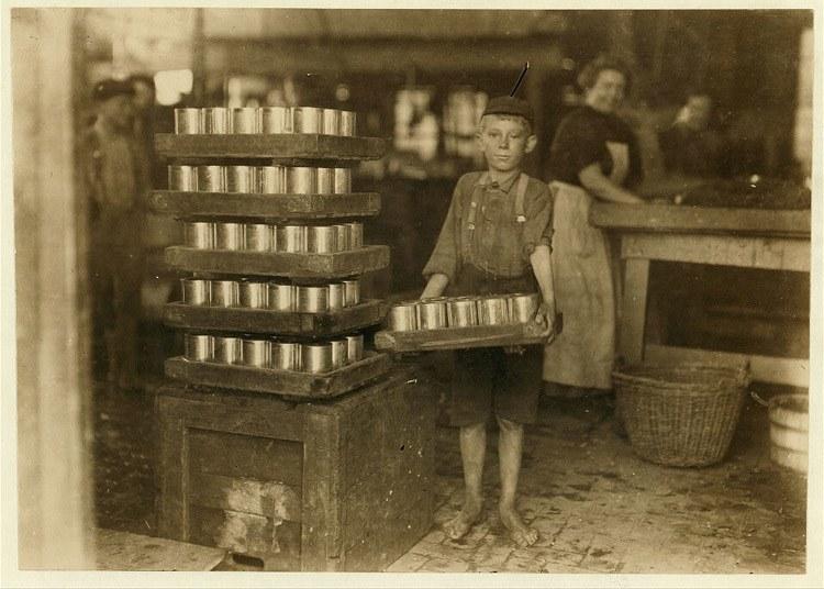 Child Labor 1900s Heavy Load