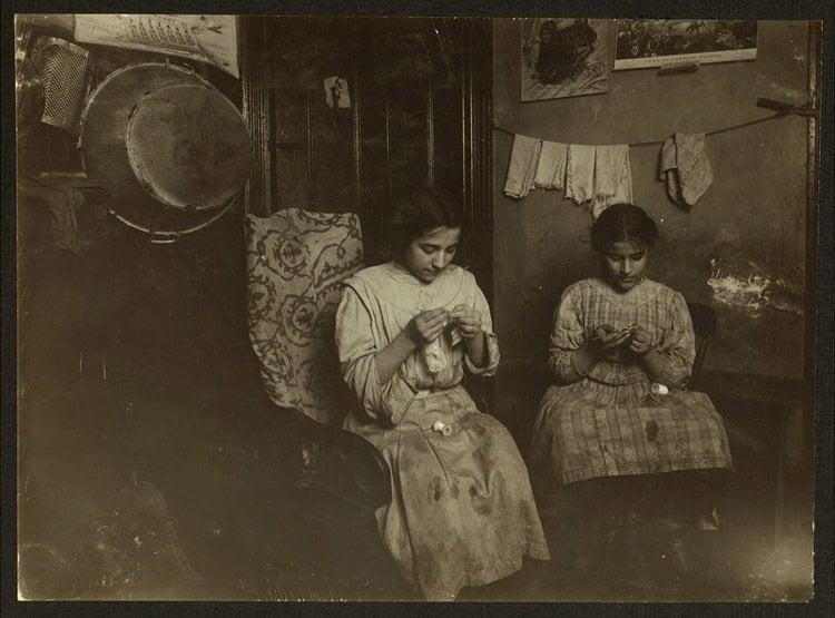 Child Labor 1900s Lace