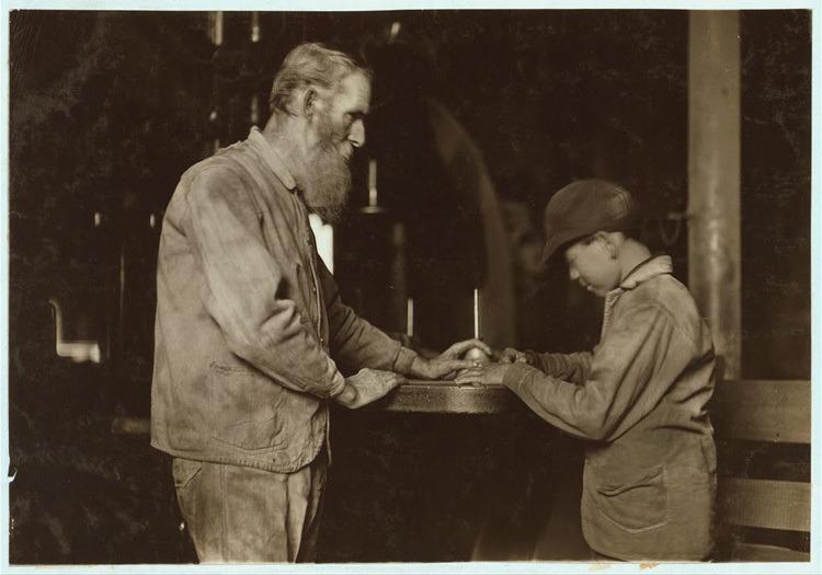 Child Labor 1900s Saw