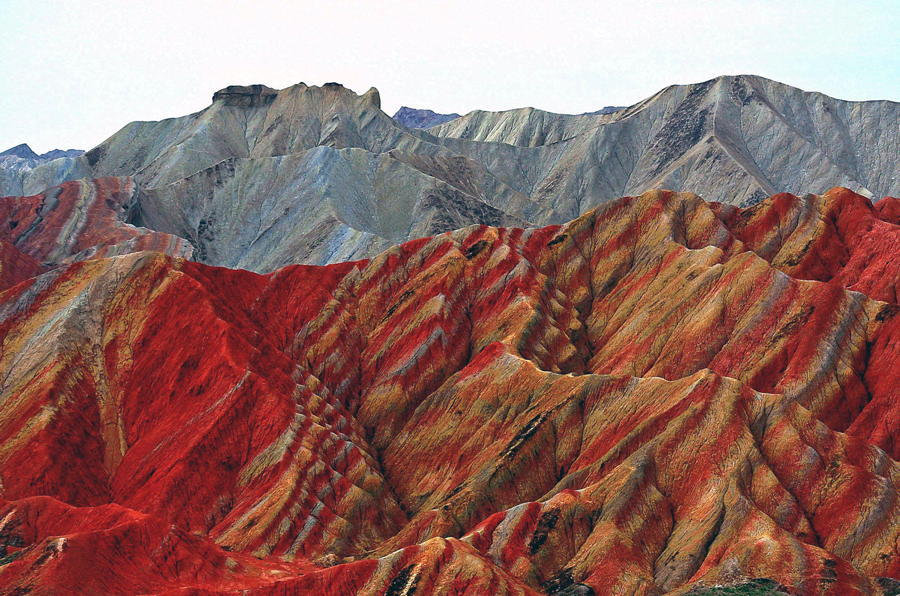 China Striped Mountains