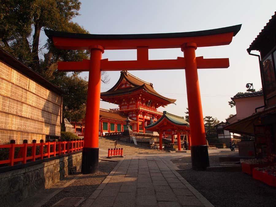 colorful Kansai Japan Fushimi Inari