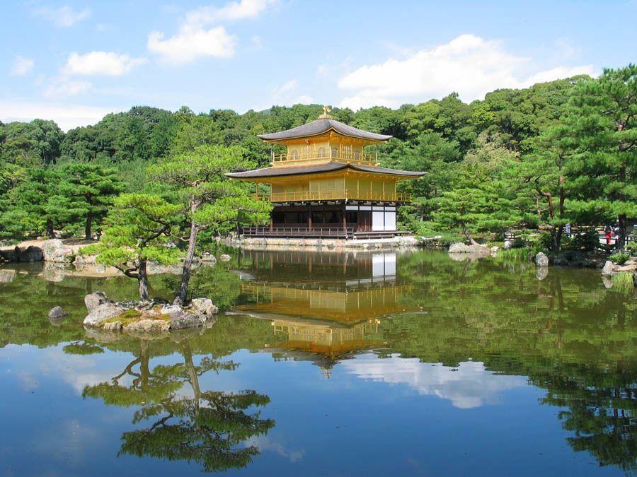 Colorful Kansai Japan Golden Pavilion