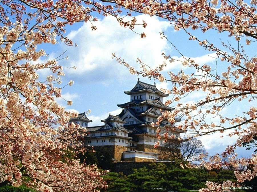 Colorful Kansai Japan Himeji Castle