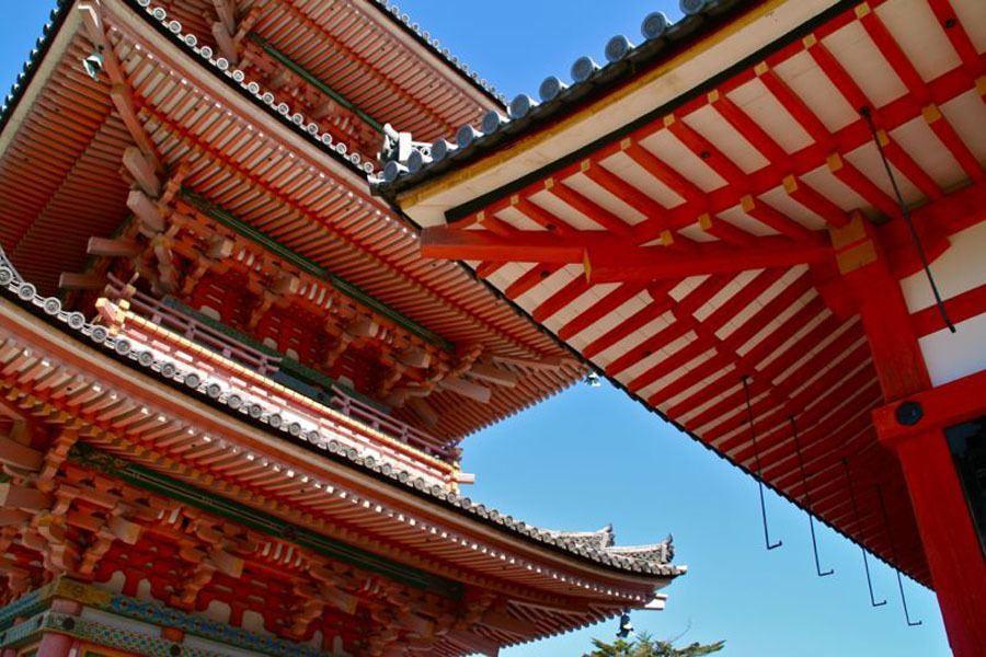 Colorful Kansai Japan Kiyomizu Dera