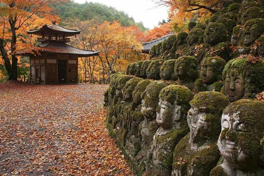 Colorful Kansai Japan Otagi Nenbutsu Ji