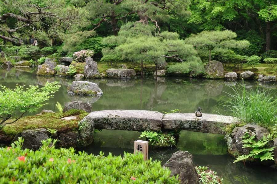 Colorful Kansai Japan Stone Bridge