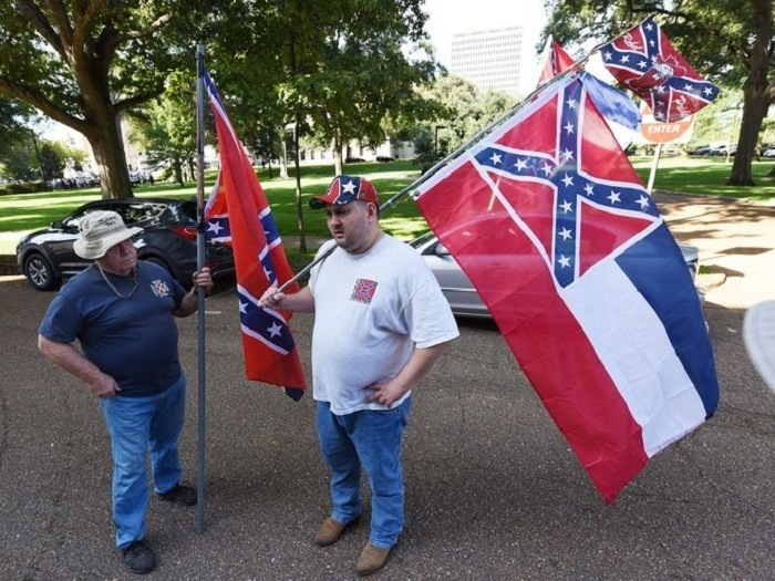 Confederate Flag Mississippi Rally