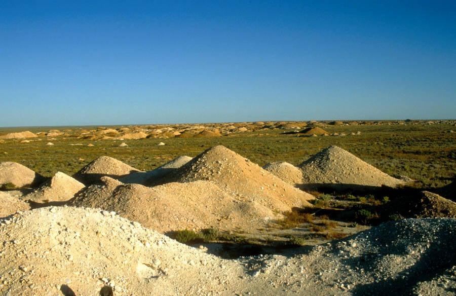 Coober Pedy Opal Fields