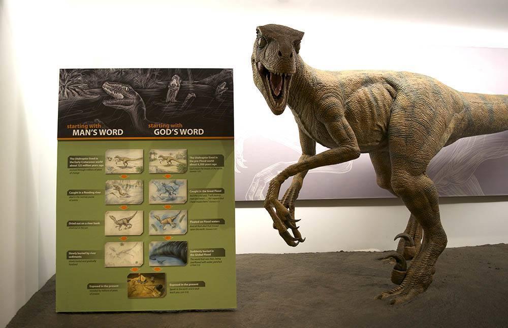 Creation Museum Man V God