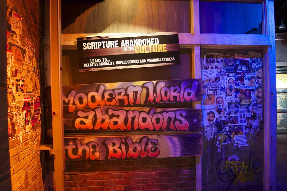 Creation Museum Scripture Modernity