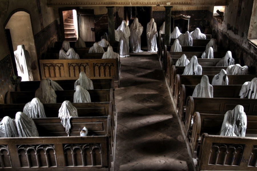 Creepy Europe Ghost Church