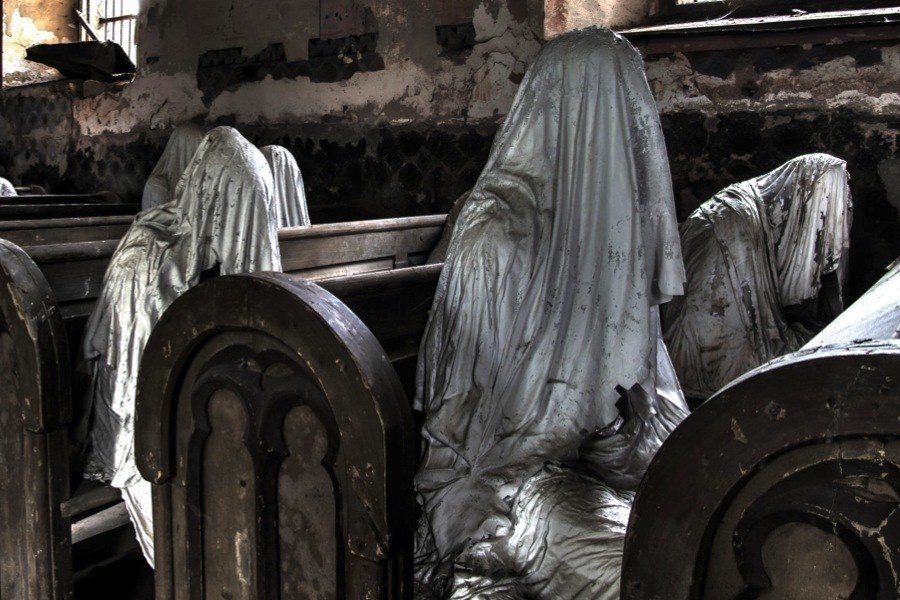 Creepy Europe Ghost Pews