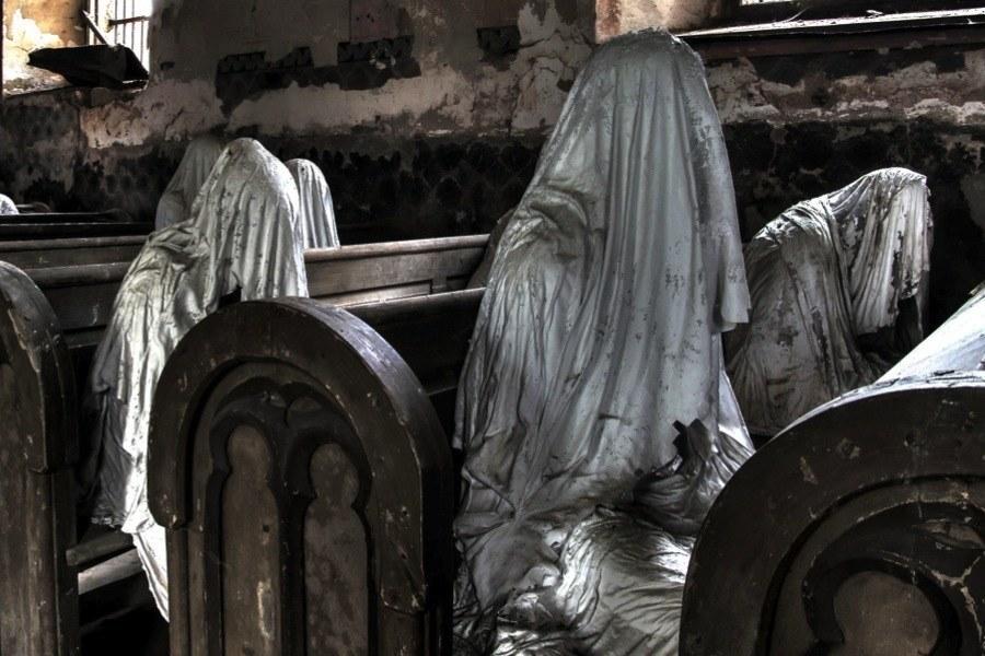 Creepy Europe Ghost Pews