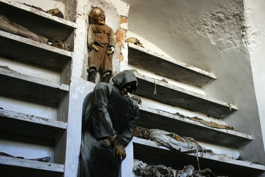 Creepy Europe Palermo Crypt