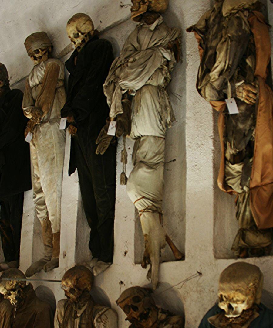 Creepy Europe Skeletons Italy