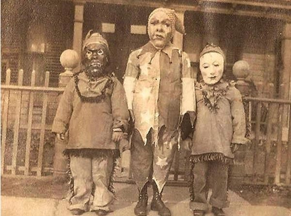Vintage Halloween Costumes Angry