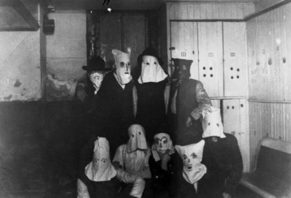Creepy Vintage Halloween Costumes Bags