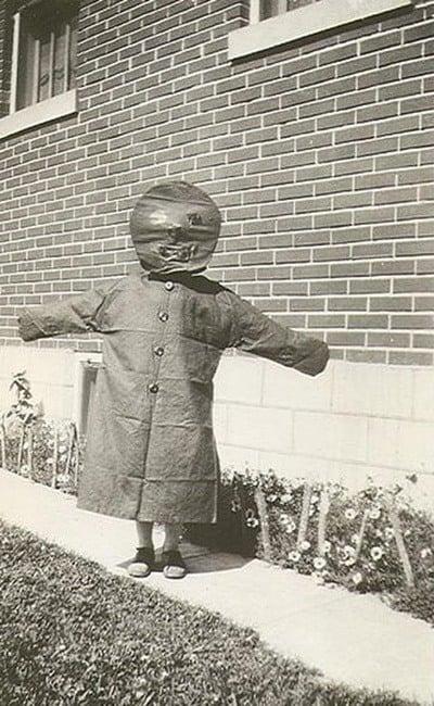 Kid In Weird Costume