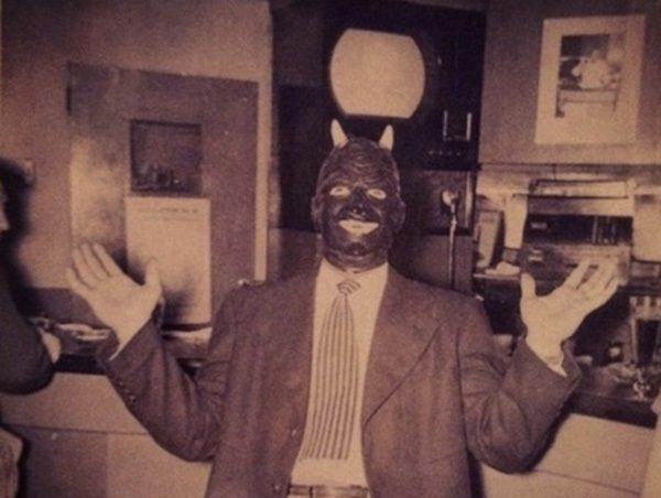 Man In Creepy Costume