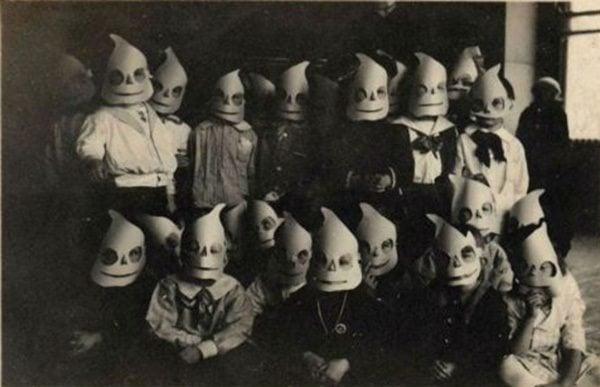 Creepy Vintage Halloween Costumes Ghouls