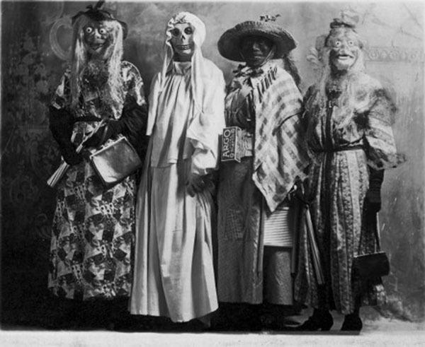 Creepy Vintage Halloween Costumes Village People