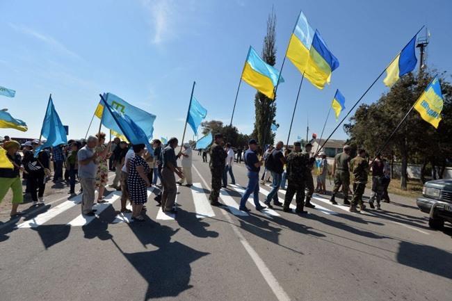 Crimean Tatar Block Supplies